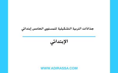 جذاذات التربية التشكيلية الخامس ابتدائي لتقديم دروس المادة في المغرب