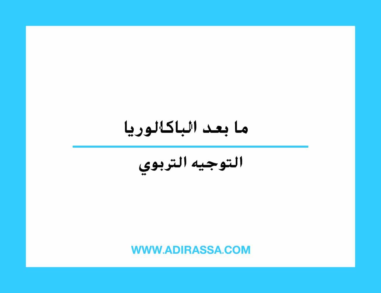 ما بعد الباكالوريا آفاق دراسية متنوعة في المدرسة المغربية