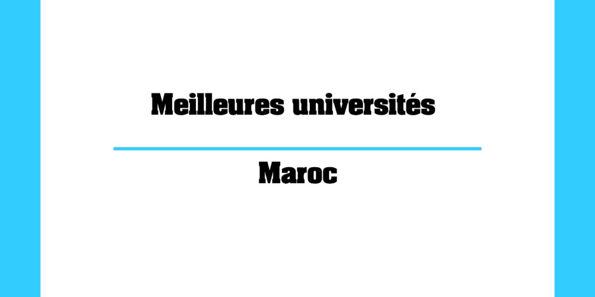 Meilleures universités au Maroc pour les étudiants internationaux